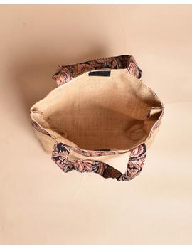 Soft jute tambulam or gift bag : MSJ03-2-sm