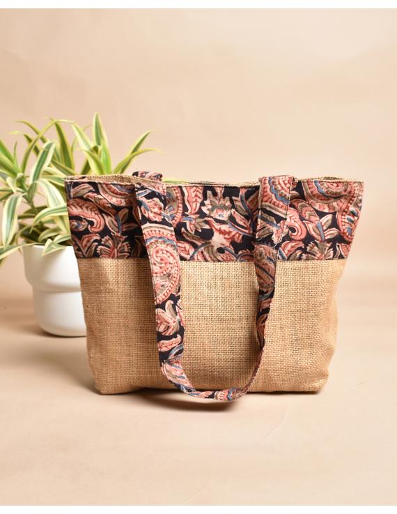 Soft jute tambulam or gift bag : MSJ03-MSJ03