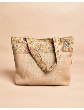 Soft jute tambulam or gift bag : MSJ03-3-sm