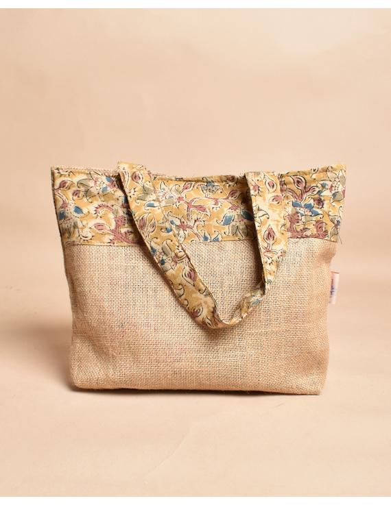 Soft jute tambulam or gift bag : MSJ03-3