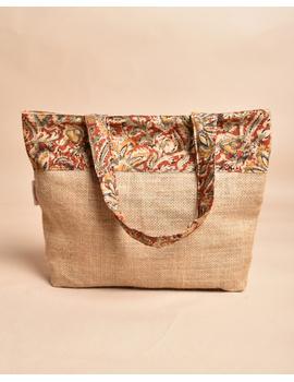 Soft jute tambulam or gift bag : MSJ03-5-sm