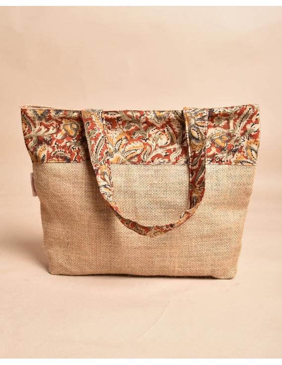 Soft jute tambulam or gift bag : MSJ03-5