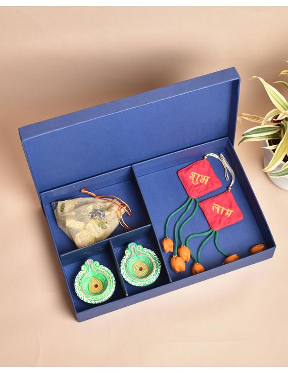 Handcrafted Diwali hamper option A: DHHA-DHHA