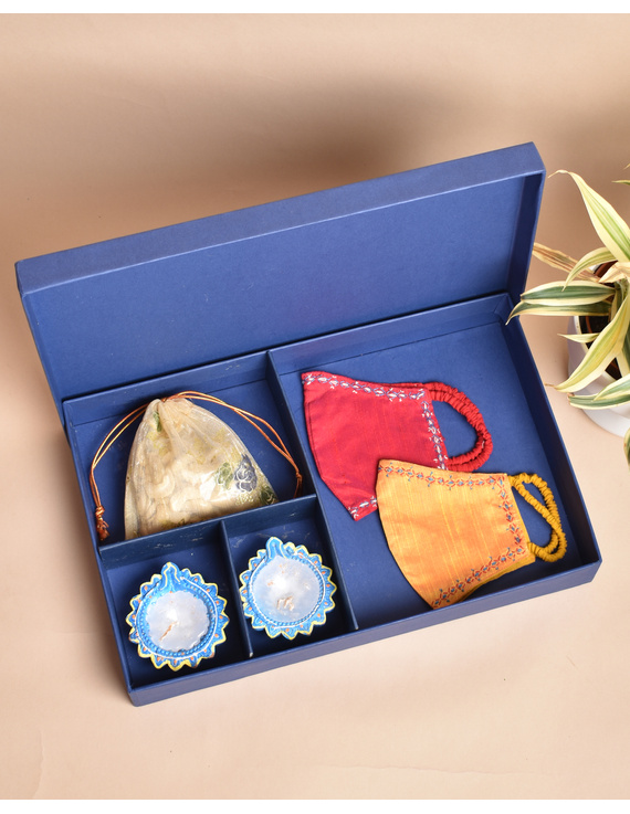 Handcrafted Diwali hamper option C: DHHC-DHHC