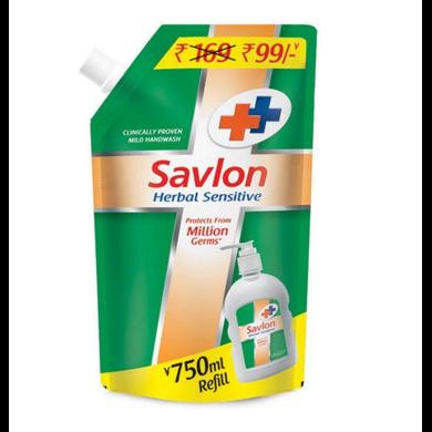 Savlon Herbal Sensitive Handwash - 750ml-SKU-6972