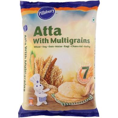 Pillsbury Atta with Multigrains-SKU-Atta-035