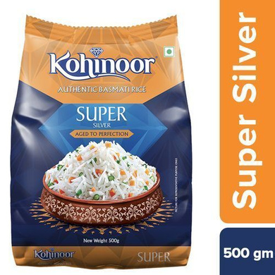 Kohinoor Basmati Rice - Super Silver Aged-SKU-Rice-075