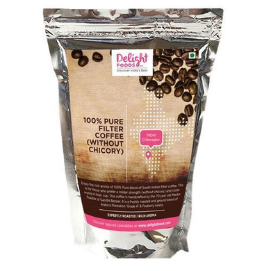 Delight Foods Coffee - 100% Pure Filter, Without Chicory-SKU-COFFEE-016