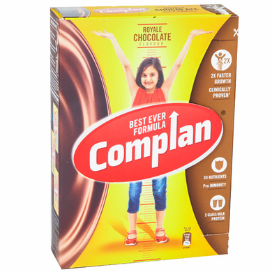 Complan Growth Drink Mix - Royale Chocolate Flavour-SKU-HD-020
