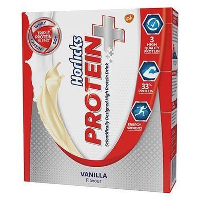 Horlicks High Protein Drink - Vanilla, Protein+-SKU-HD-042