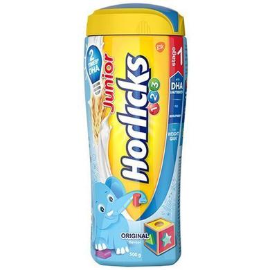 Horlicks Junior Health & Nutrition Drink - Original Flavour, Stage 1-SKU-HD-046