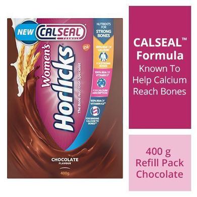 Horlicks Women's Horlicks Health & Nutrition Drink - Chocolate Flavour, No Added Sugar-SKU-HD-057