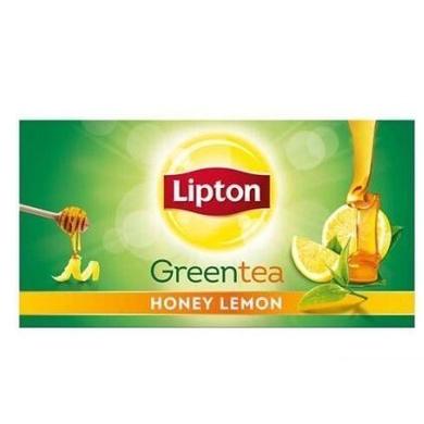 Lipton Green Tea Bags - Honey Lemon 25 Bags x 2 gm Each 50 gm-SKU-TEA-016