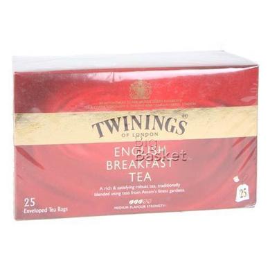 Twinings Tea - English Breakfast 25 pcs Carton-SKU-TEA-037