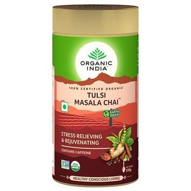 Organic India Chai - Masala, Tulsi 100 gm-SKU-TEA-053