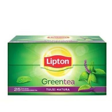 Lipton Green Tea - Tulsi Natura 25 pcs-SKU-TEA-054