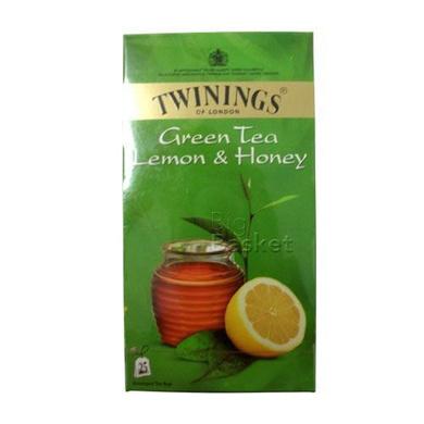 Twinings Green Tea - Lemon & Honey 50 gm (25 Bags x 2 gm each)-SKU-TEA-060