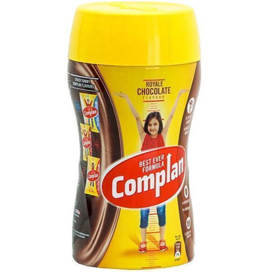 Complan Growth Drink Mix - Royale Chocolate Flavour-450 gm Jar-1