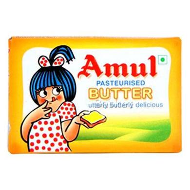 Amul Butter - Pasteurized, Carton-SKU-Britania-025