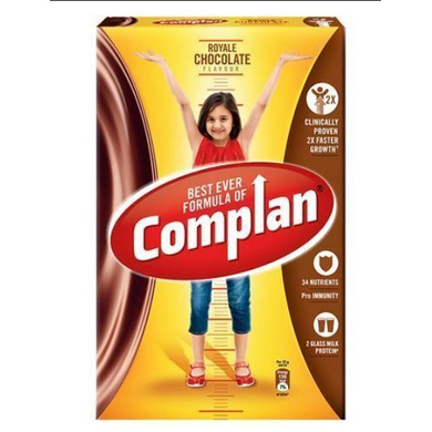 Complan Growth Drink Mix - Royale Chocolate Flavour-1 Kg Carton-1