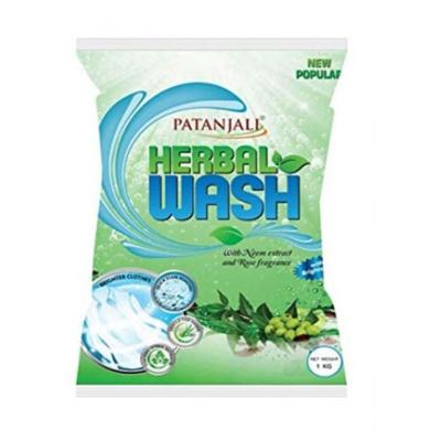 Patanjali Herbal Wash ( New Popular Detergent Powder)-SKU-DETRGNT-235