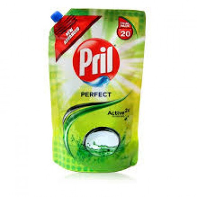 Pril  Active 2x Lime Dishwash Gel-SKU-DISWAS-455