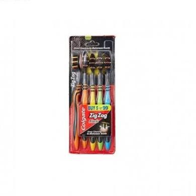 Colgate Zig Zag Black 4+1-SKU-ORAL-780