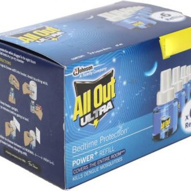 All Out Power + Fan Mosquito Repellent (Refill)-SKU-REPELNT-362