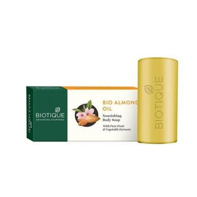 Biotique Bio Almond Nourishing Body Soap-SKU-SOAP-148