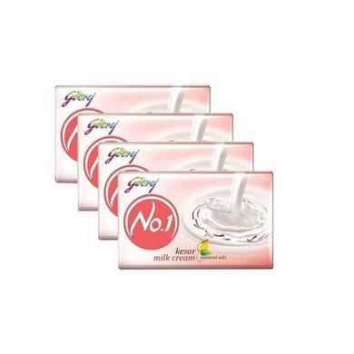 Godrej No.1 Kesar Milk Cream-SKU-SOAP-154