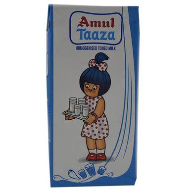 Amul Taaza Homogenised Toned Milk-SKU-Britania-015