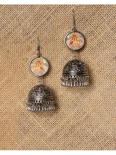 Miniature Ganesh Jhumka-LAA-ER-001
