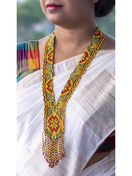 Multi-colour Seed Bead Necklace-LAA-NL-030