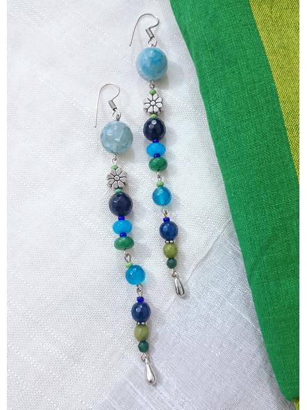 Hues of Semi Precious Green Blue Stones-LAAER-DR1
