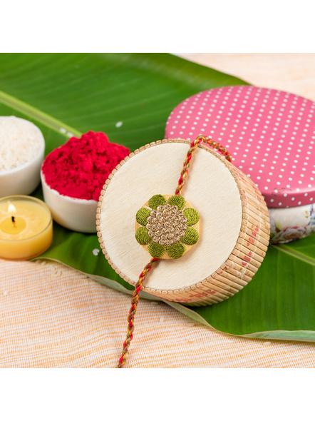 Handmade Designer Rakhi-LAA-RK-41