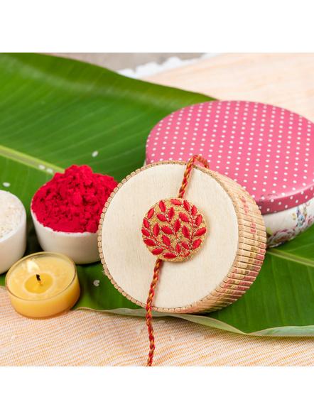 Handmade Designer Rakhi-LAA-RK-42