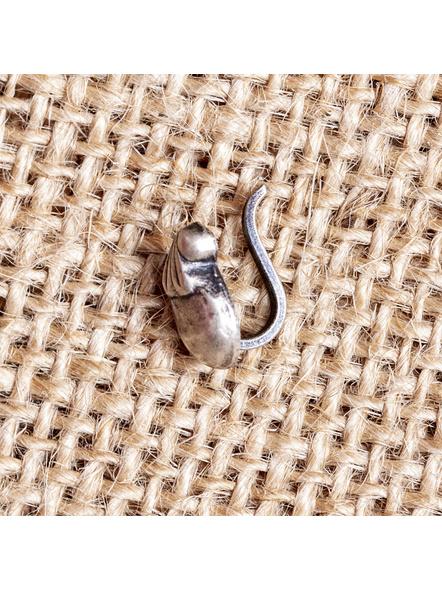 92.5 Pure Silver Designer Mango Wire Nosepin-LAA-NP-006