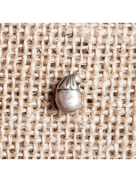 92.5 Pure Silver Designer Mango Wire Nosepin-1