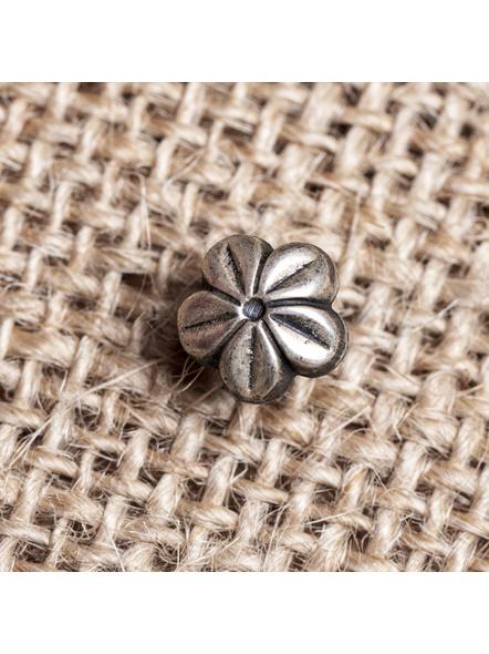 92.5 Pure Silver Designer Flower Wire Nosepin-LAA-NP-009