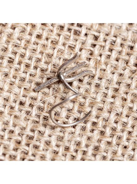 92.5 Pure Silver Designer Trishul Wire Nosepin-LAA-NP-010