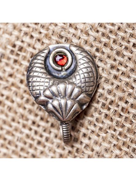 92.5 Pure Silver Designer Jumbo Clip-on Nosepin-LAA-NP-013