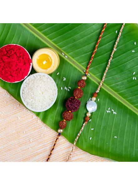 Handmade Designer Rakhi Set of 2-LAA-RKSO2-01