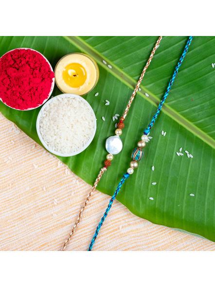 Handmade Designer Rakhi Set of 2-LAA-RKSO2-04