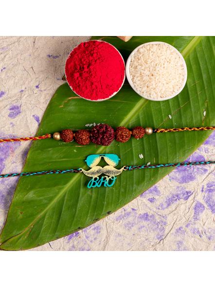 Handmade Designer Rakhi Set of 2-LAA-RKSO2-07