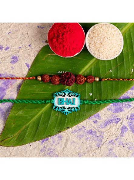 Handmade Designer Rakhi Set of 2-LAA-RKSO2-09
