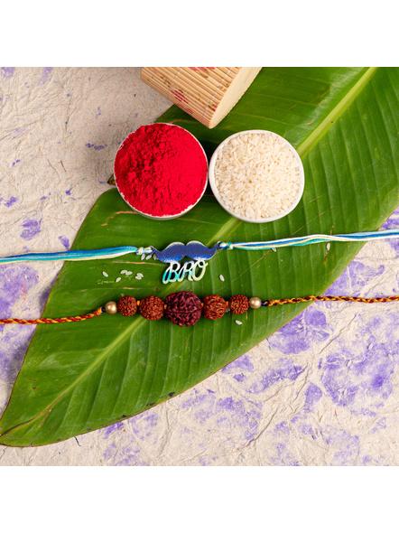 Handmade Designer Rakhi Set of 2-LAA-RKSO2-11