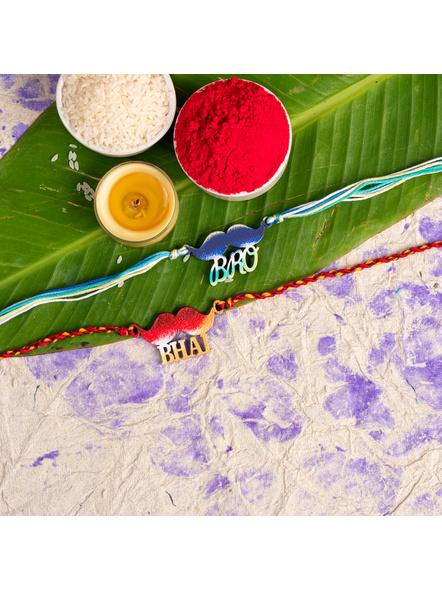 Handmade Designer Rakhi Set of 2-LAA-RKSO2-14
