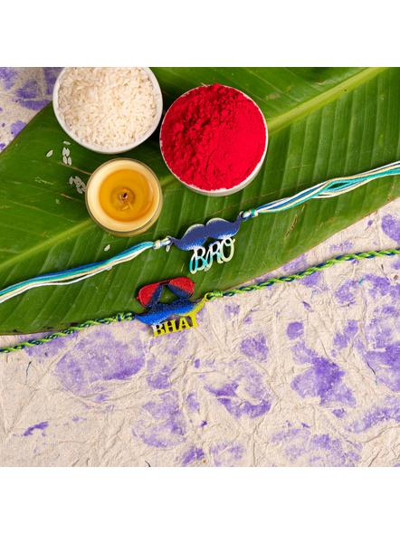 Handmade Designer Rakhi Set of 2-LAA-RKSO2-15