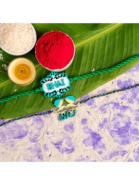 Handmade Designer Rakhi Set of 2-LAA-RKSO2-18