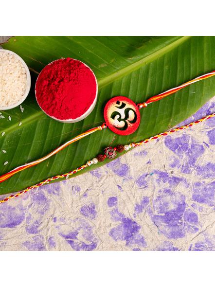 Handmade Designer Rakhi Set of 2-LAA-RKSO2-25
